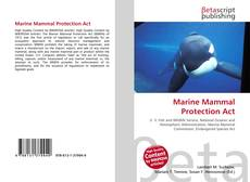 Bookcover of Marine Mammal Protection Act