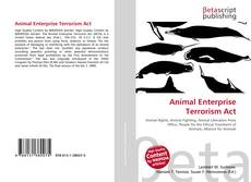 Bookcover of Animal Enterprise Terrorism Act