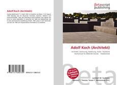 Bookcover of Adolf Koch (Architekt)