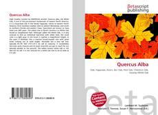 Capa do livro de Quercus Alba
