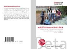 Bookcover of Adolf-Butenandt-Institut