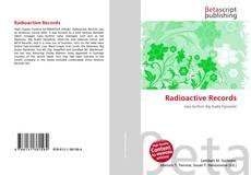 Capa do livro de Radioactive Records