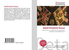 Borítókép a  Adolf-Friedrich-Kreuz - hoz