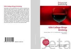 Обложка USA College Binge Drinking