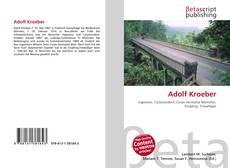 Bookcover of Adolf Kroeber