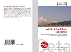 Обложка Adolf-Hiltler-Schule Sonthofen