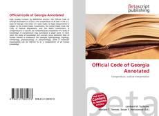 Borítókép a  Official Code of Georgia Annotated - hoz