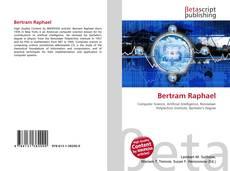 Bookcover of Bertram Raphael