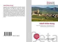 Bookcover of Adolf-Hitler-Koog
