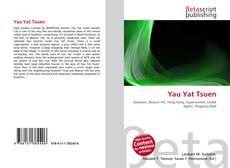 Bookcover of Yau Yat Tsuen