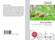 Capa do livro de Quercus Nigra
