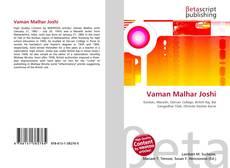 Couverture de Vaman Malhar Joshi