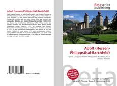 Adolf (Hessen-Philippsthal-Barchfeld)的封面
