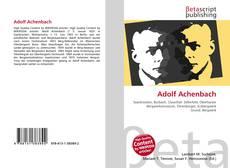 Обложка Adolf Achenbach