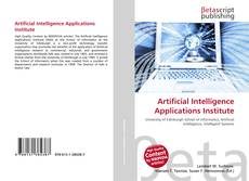 Bookcover of Artificial Intelligence Applications Institute