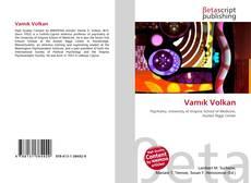 Vamık Volkan kitap kapağı