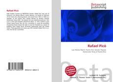 Capa do livro de Rafael Picó