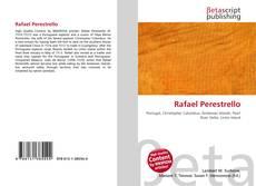 Capa do livro de Rafael Perestrello