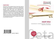 Buchcover von Adolf Alter
