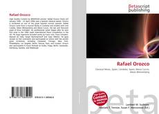 Bookcover of Rafael Orozco