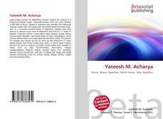 Bookcover of Yateesh M. Acharya