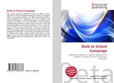 Portada del libro de Walk to School Campaign