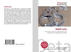 Adolf Lenz的封面
