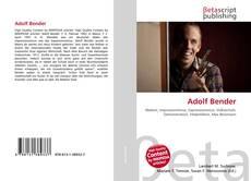 Adolf Bender kitap kapağı