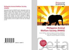 Bookcover of Philippine Animal Welfare Society (PAWS)