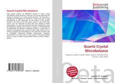 Quartz Crystal Microbalance kitap kapağı