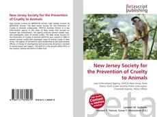 Bookcover of New Jersey Society for the Prevention of Cruelty to Animals