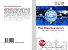 Buchcover von Marr- Hildreth Algorithm