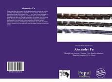 Portada del libro de Alexander Fu