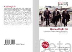Capa do livro de Qantas Flight 30