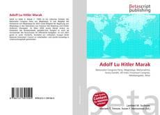 Buchcover von Adolf Lu Hitler Marak