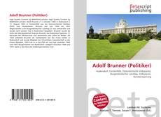 Обложка Adolf Brunner (Politiker)