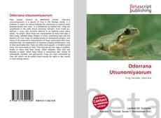 Обложка Odorrana Utsunomiyaorum