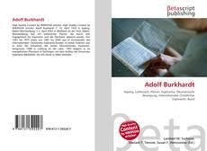 Borítókép a  Adolf Burkhardt - hoz