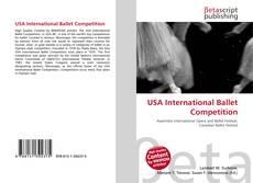 USA International Ballet Competition kitap kapağı