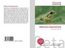 Обложка Odorrana Supranarina