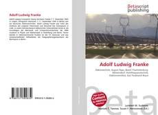 Buchcover von Adolf Ludwig Franke