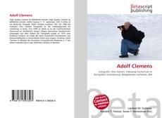 Adolf Clemens kitap kapağı
