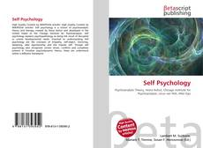 Bookcover of Self Psychology