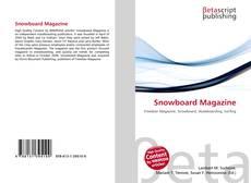 Snowboard Magazine kitap kapağı