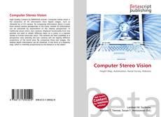 Обложка Computer Stereo Vision