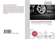 Vorsprung Durch Technik kitap kapağı