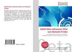 Adolf Max Johannes Otto von Batocki-Friebe的封面