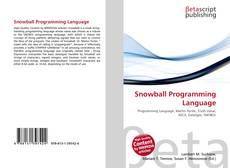 Capa do livro de Snowball Programming Language