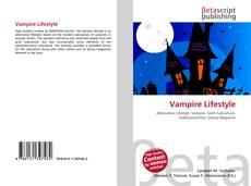 Capa do livro de Vampire Lifestyle