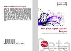 Buchcover von USA Rock Paper Scissors League